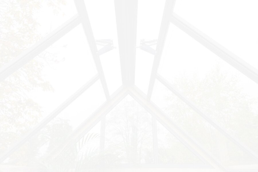 background image of a greenhouse frame