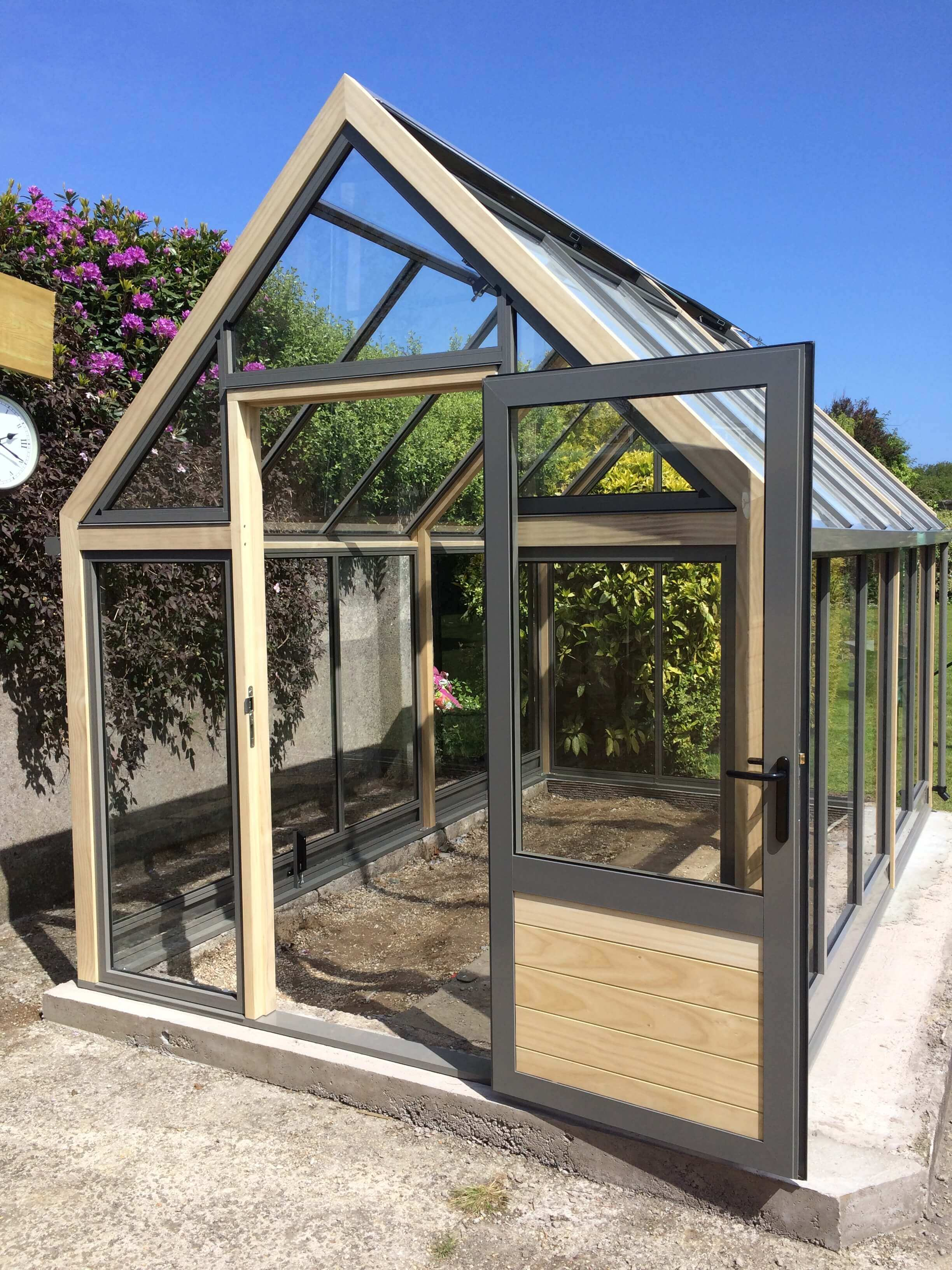 A new beautiful greenhouse