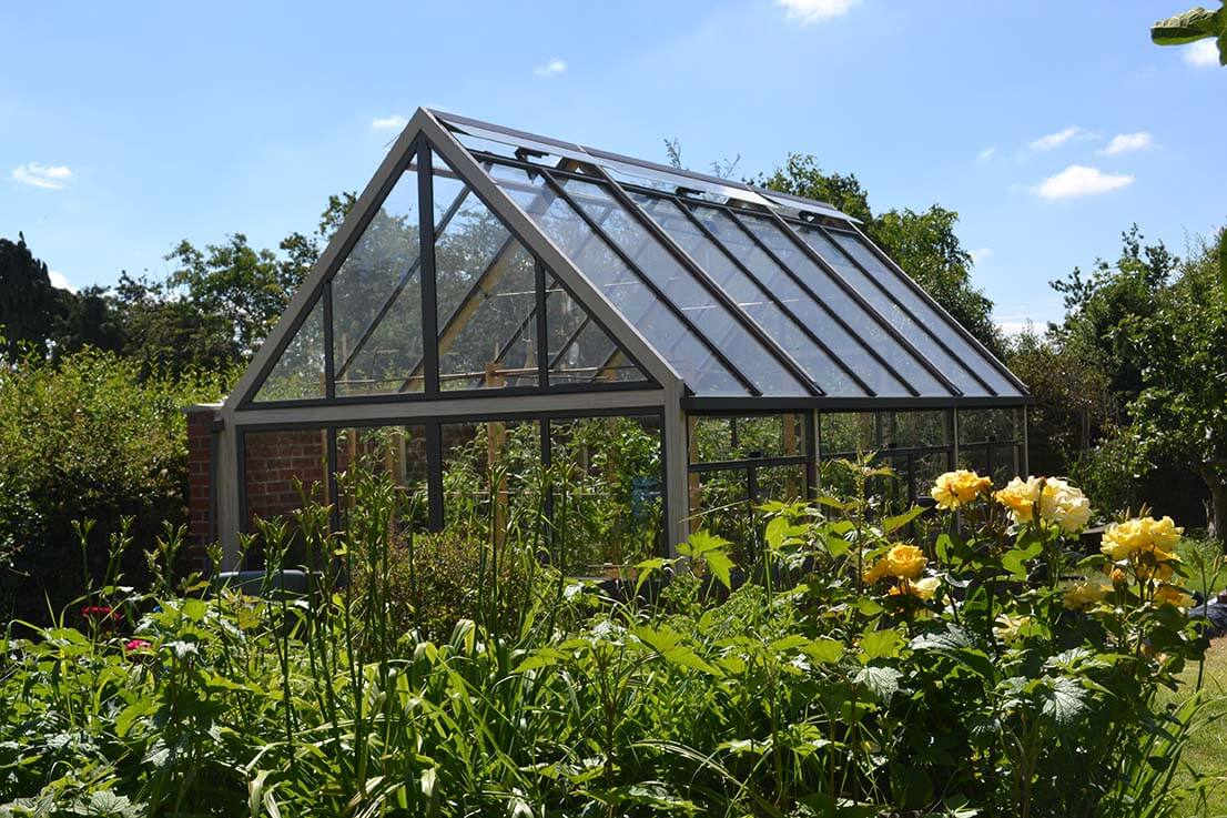 Greenhouse from house