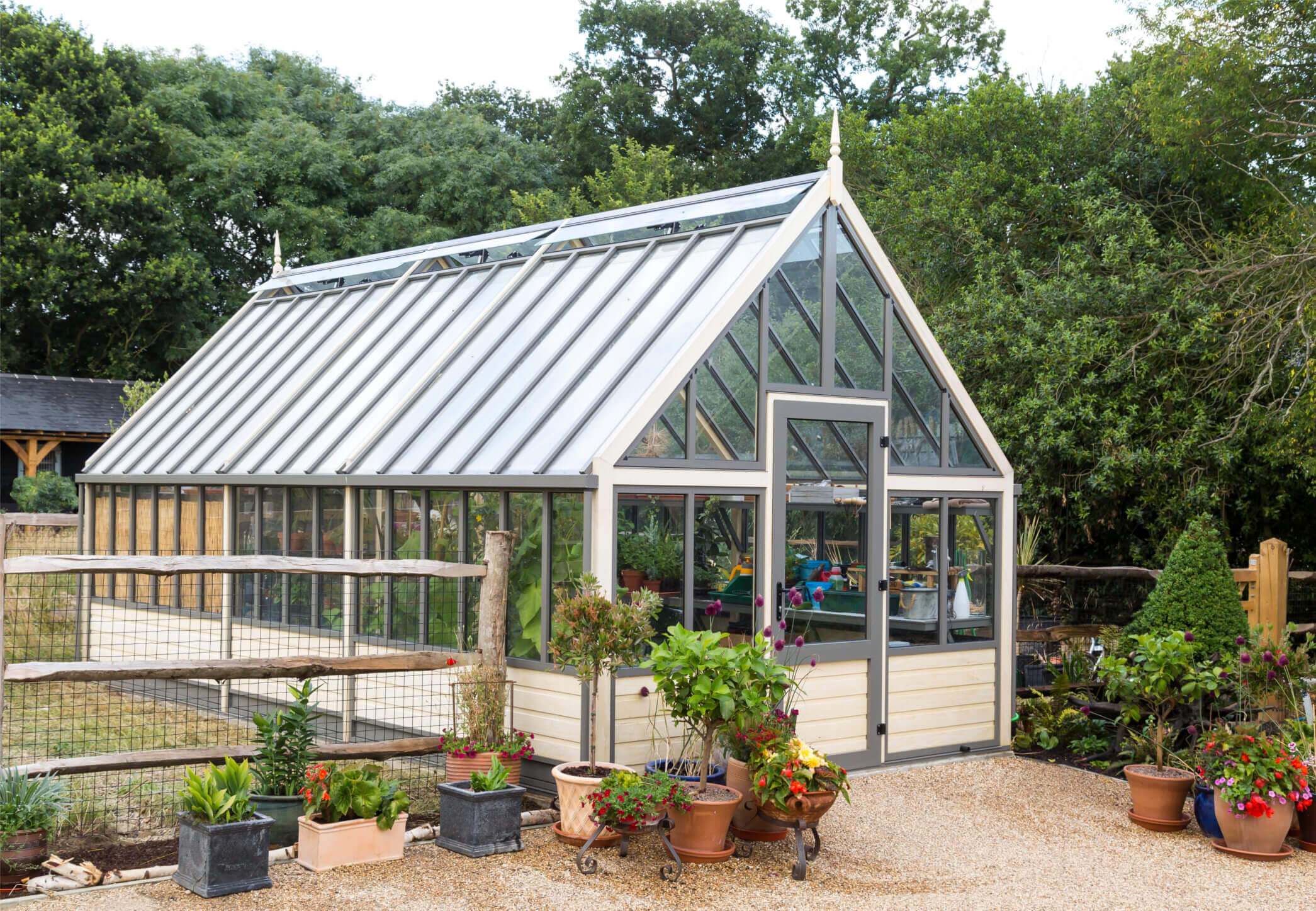 Large Victorian Greenhouse