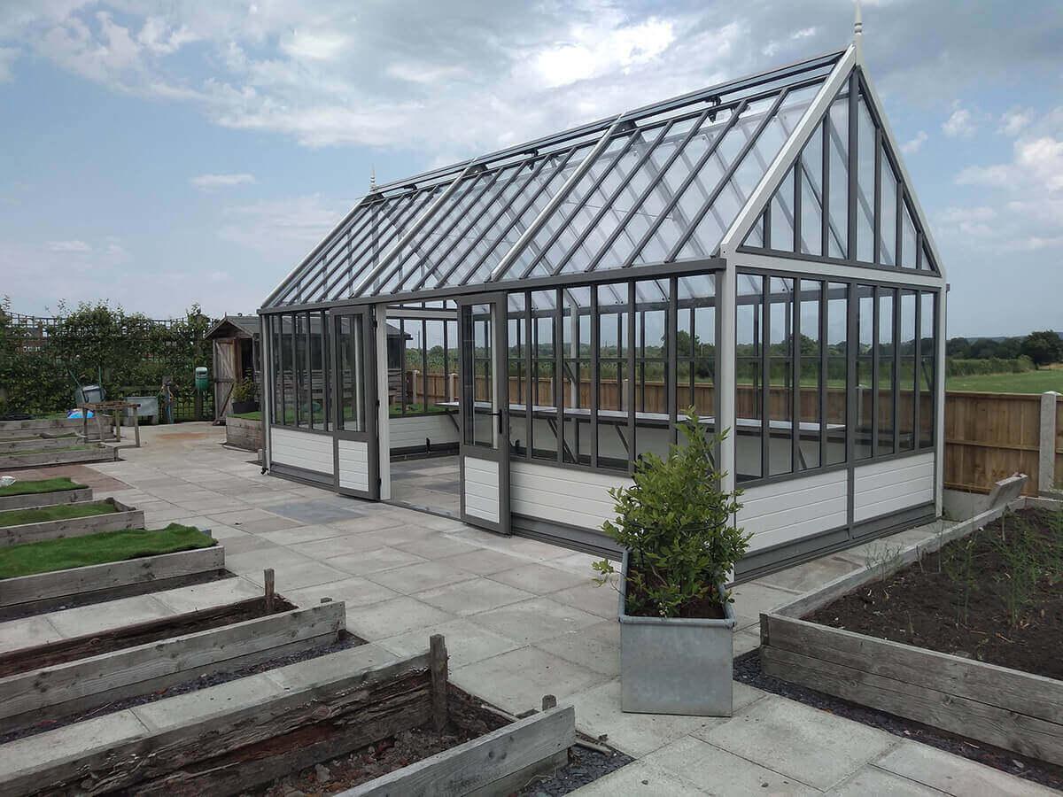 Victorian pavilion greenhouse
