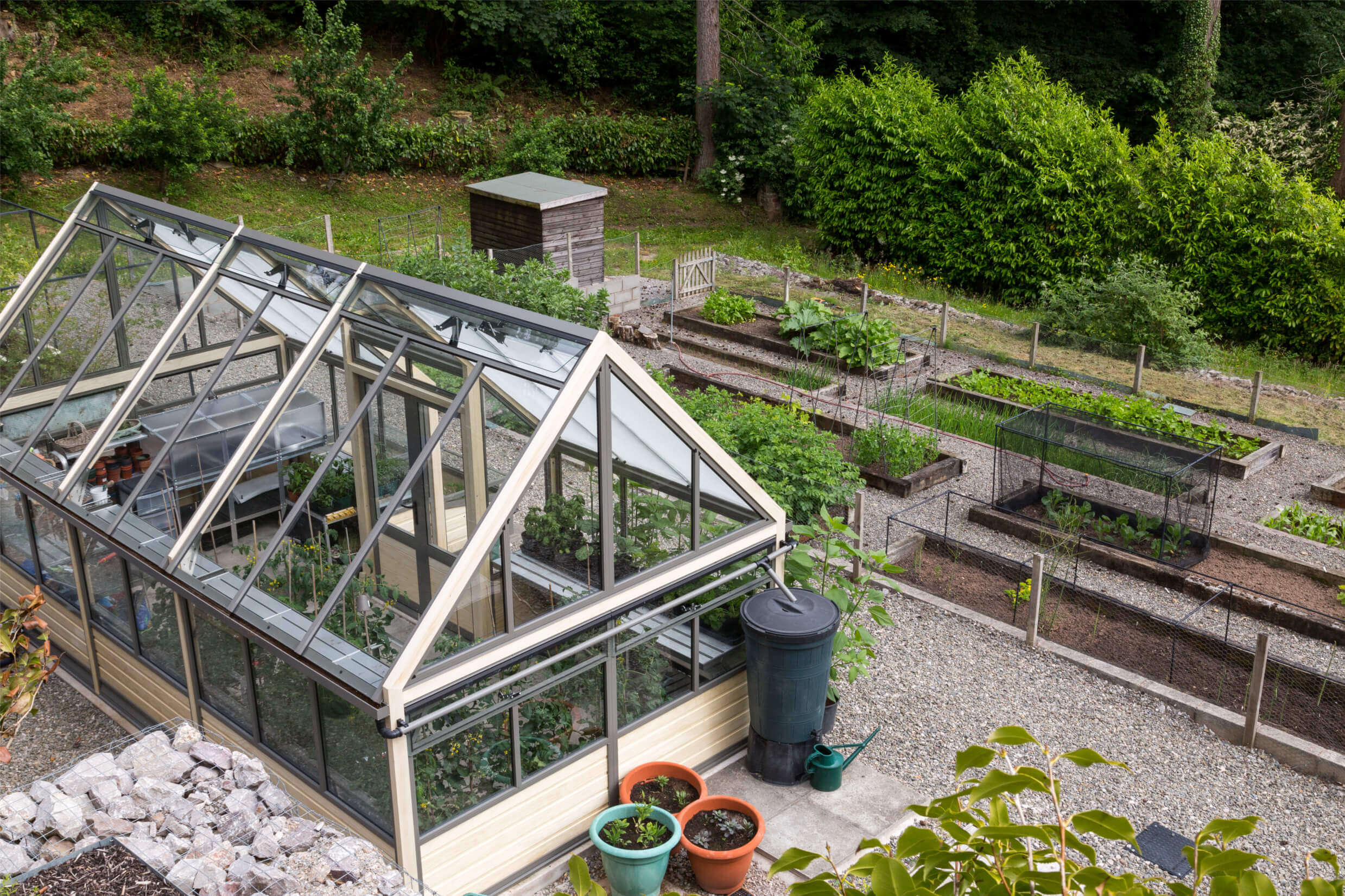 a different perspective on this alternative greenhouse design