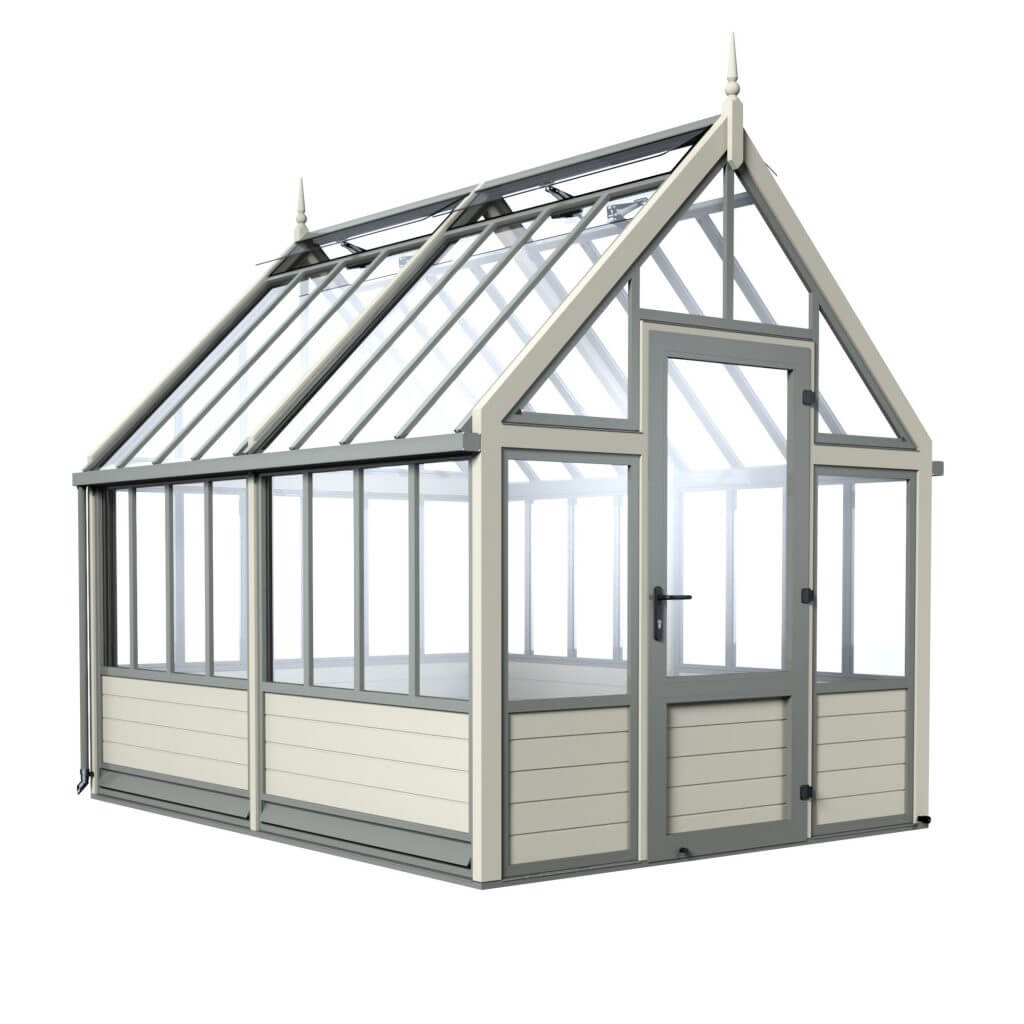 aluminium victorian greenhouse