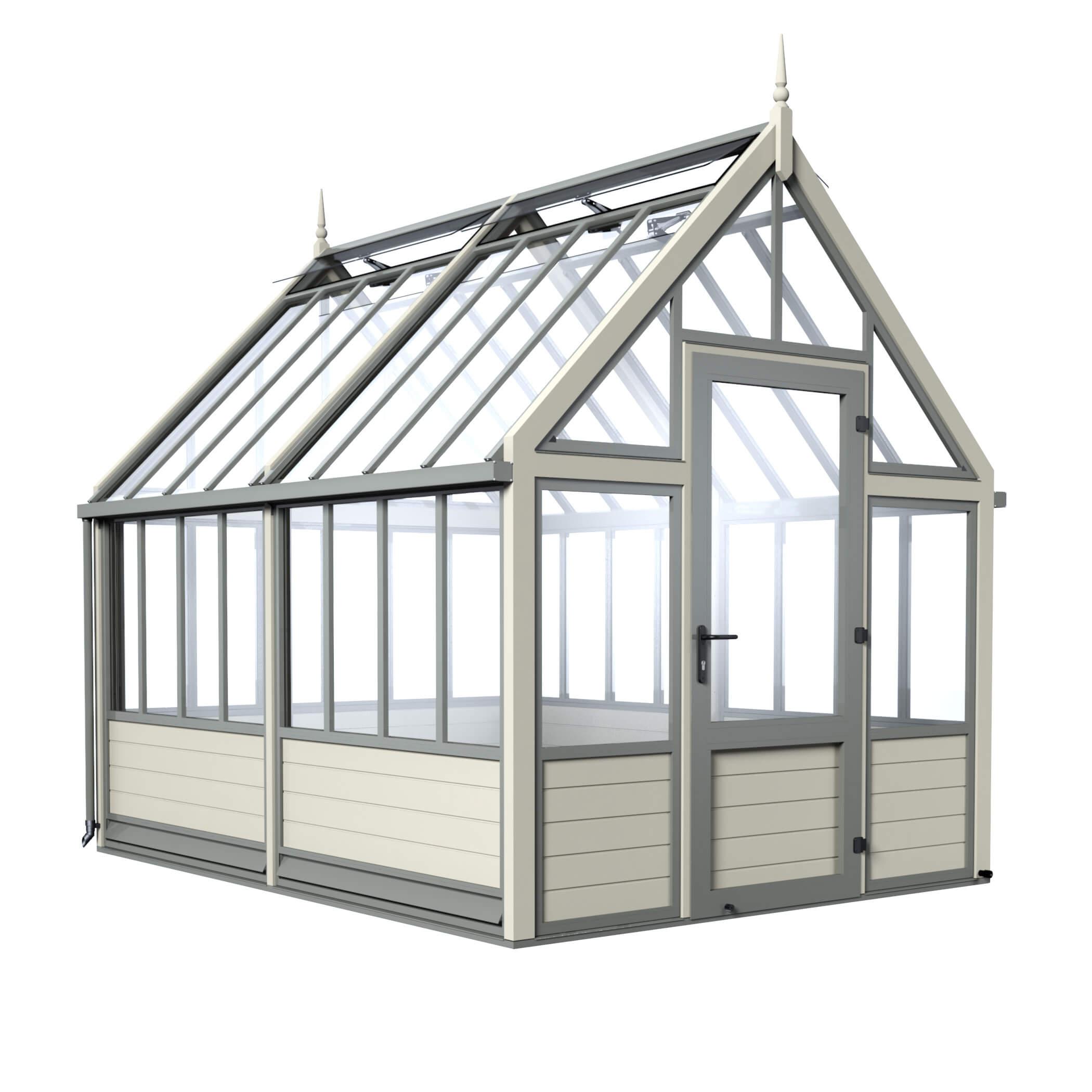 Aluminium Greenhouses | Metal Greenhouses | Cultivar UK