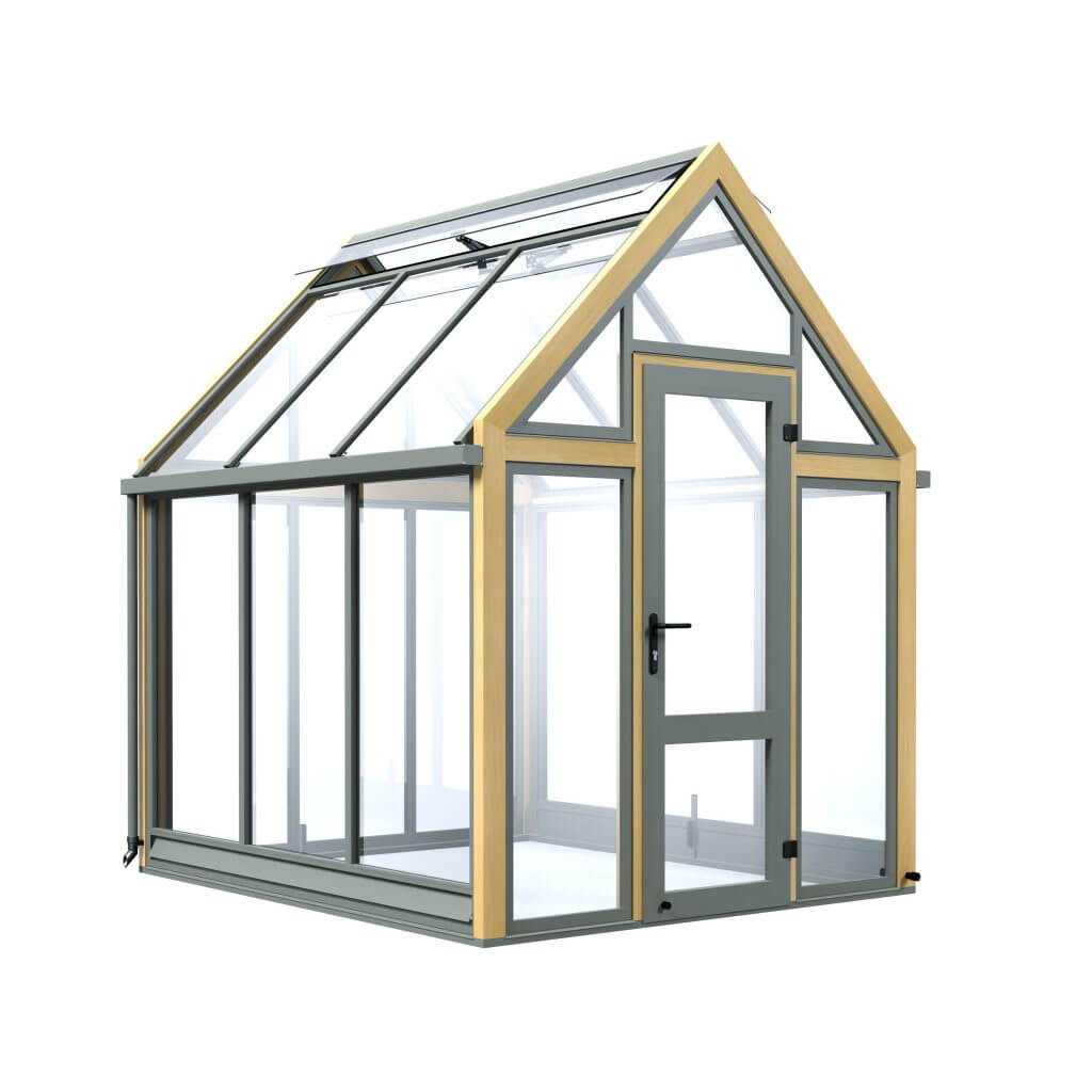 A3G, small wooden greenhouse