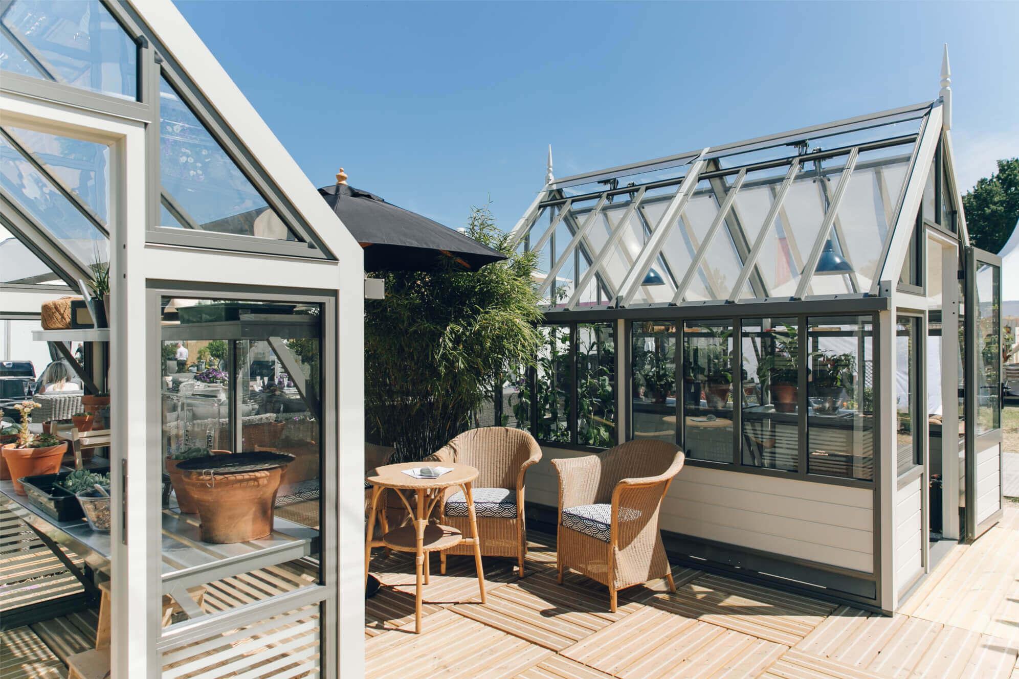 The New range of Aluminium Greenhouses