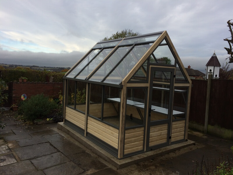 Greenhouse in Yorkshire