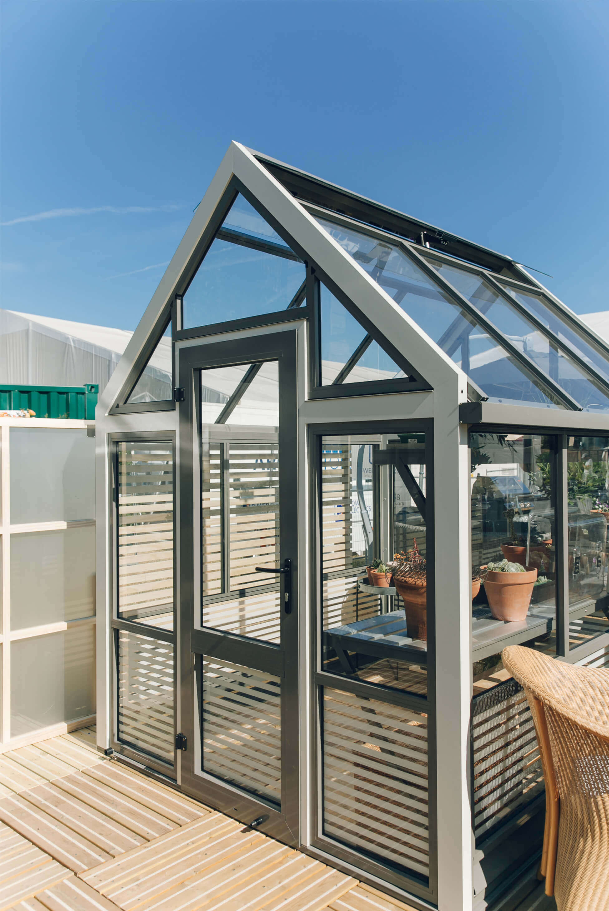 Small Aluminium Greenhouse