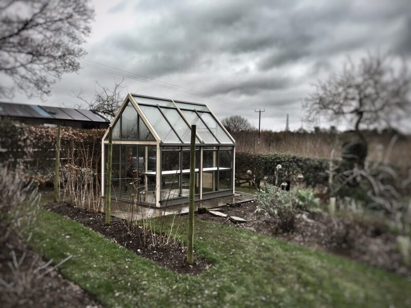New greenhouse from afar