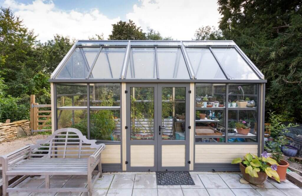 tall greenhouse