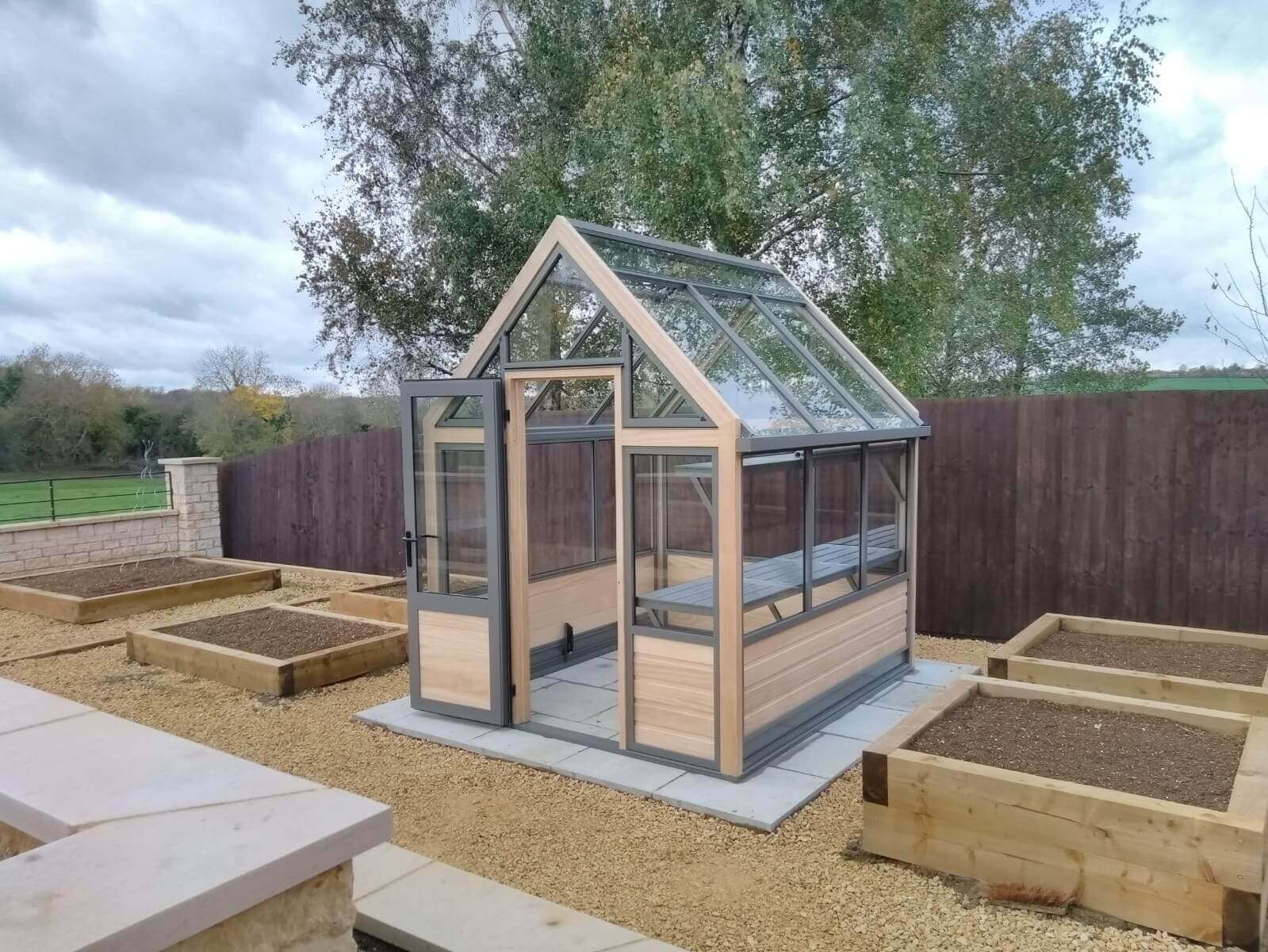 New small accoya greenhouse