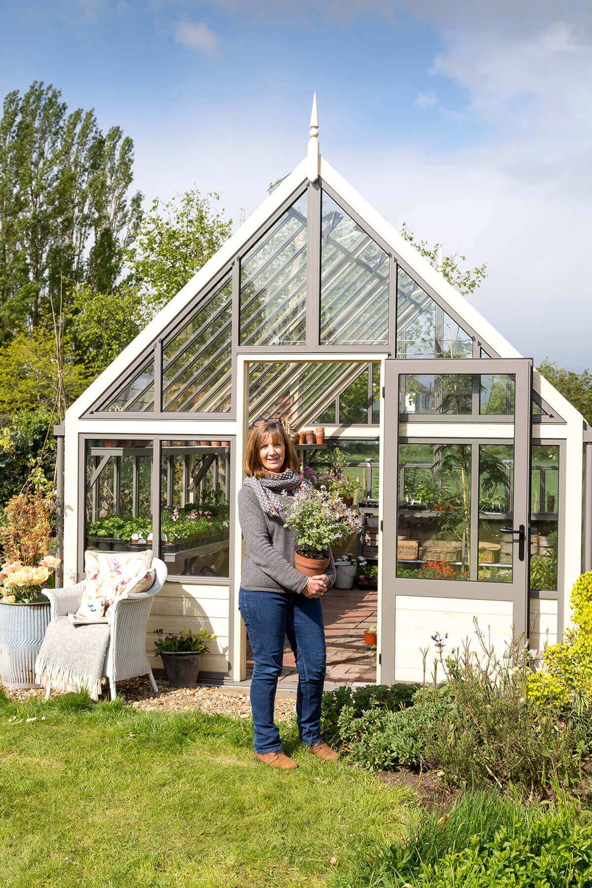 Proud greenhouse customer