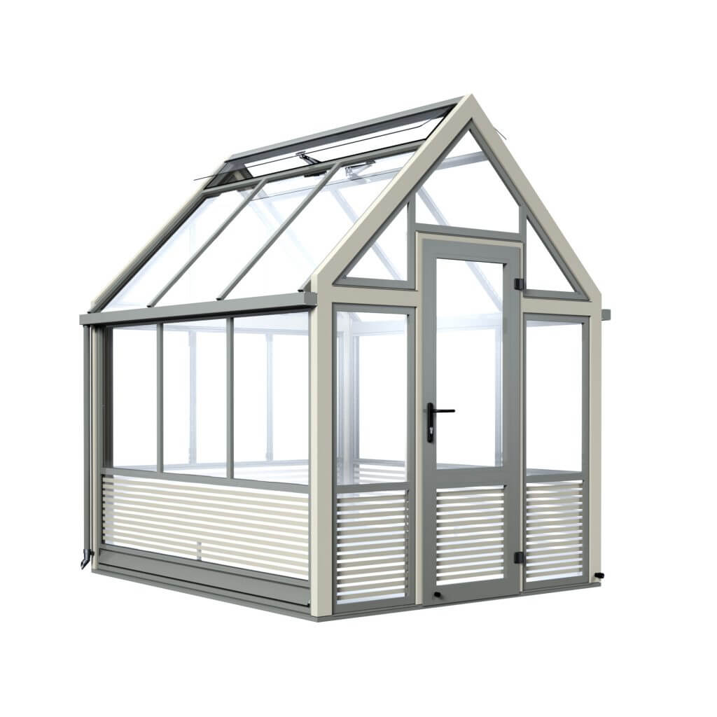 stripey greenhouse, Hampton Court Flower Show
