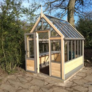 small victorian greenhouse