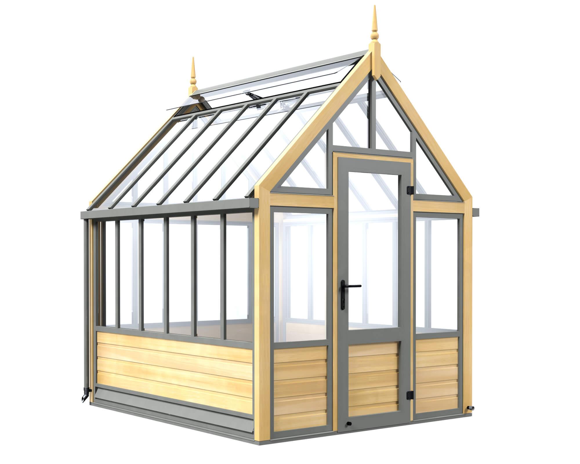 small Victorian greenhouse
