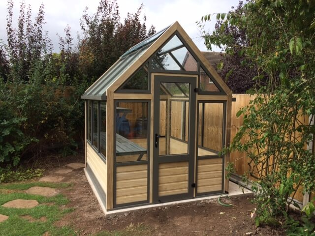 Smart new greenhouse