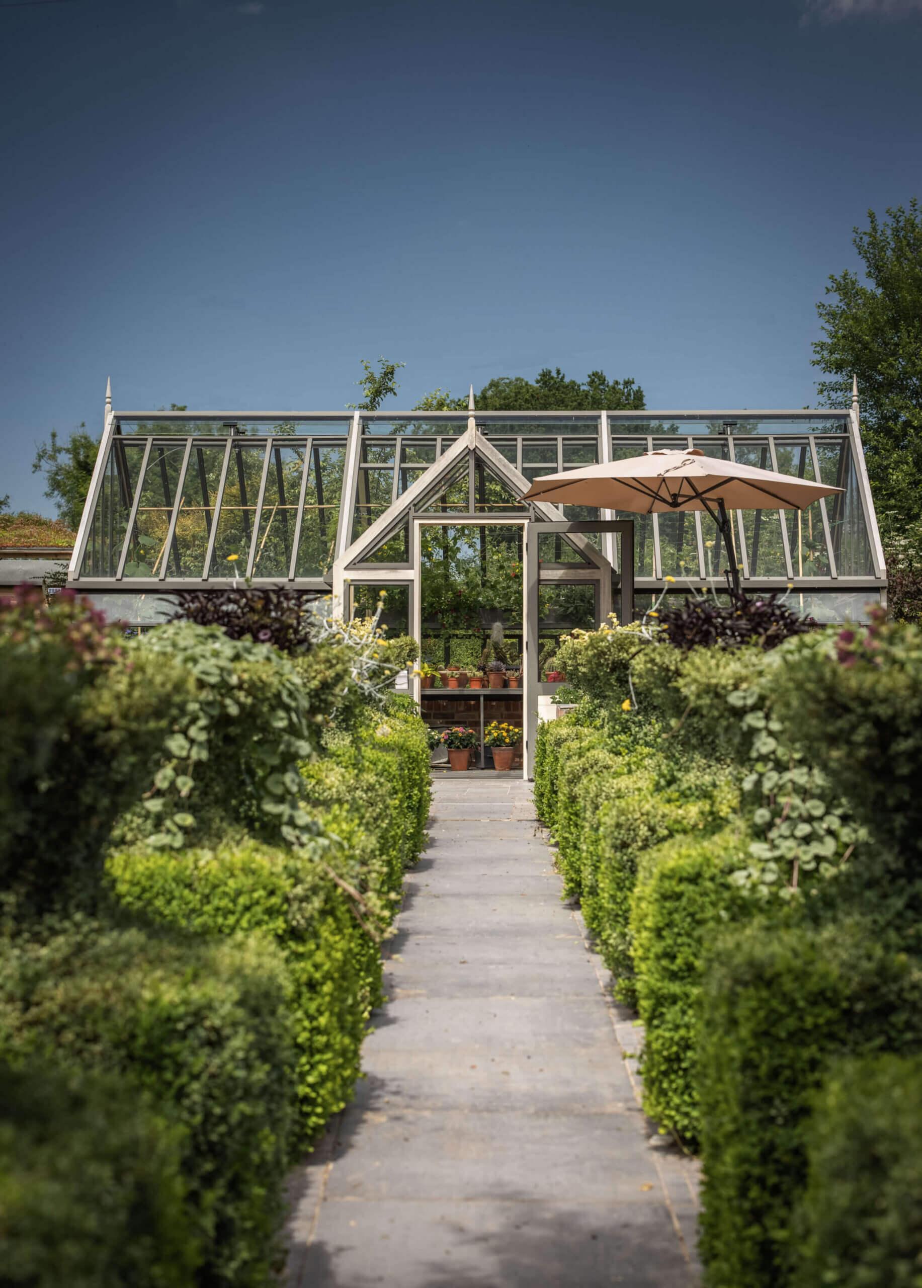 stylish victorian porch greenhouse