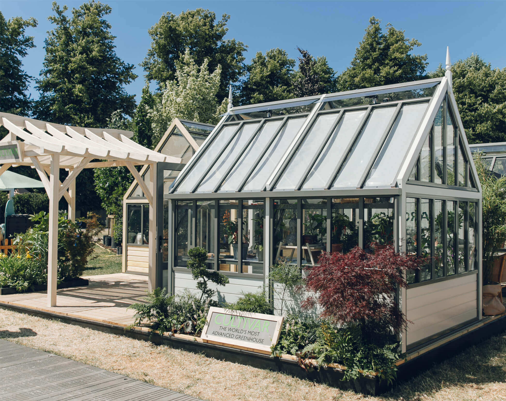 The New Aluminium Victorian Greenhouse