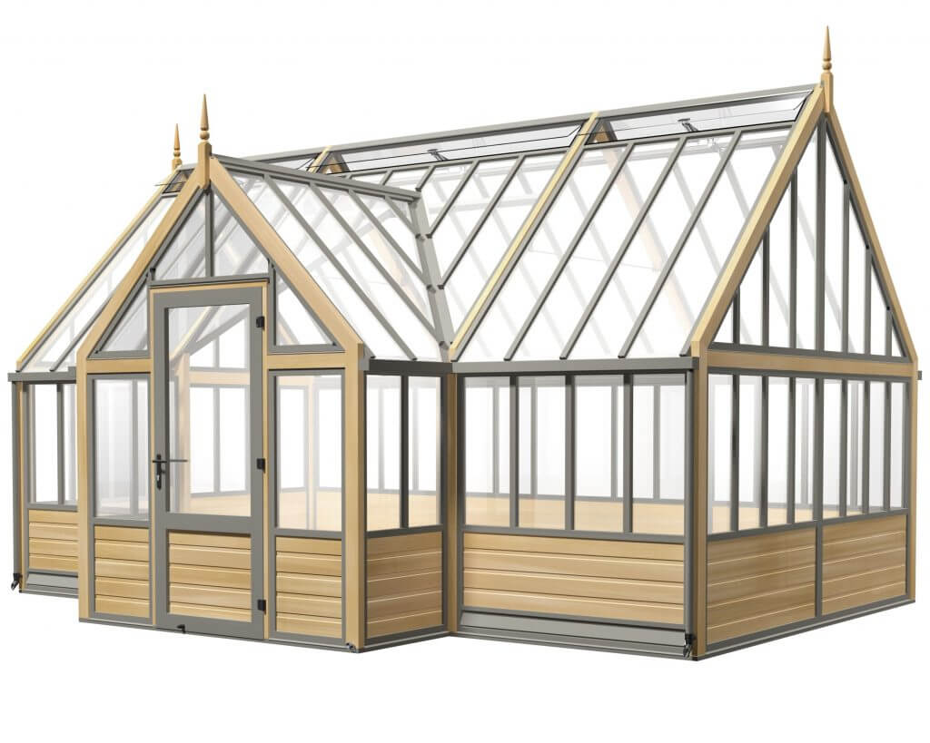 greenhouse with porch