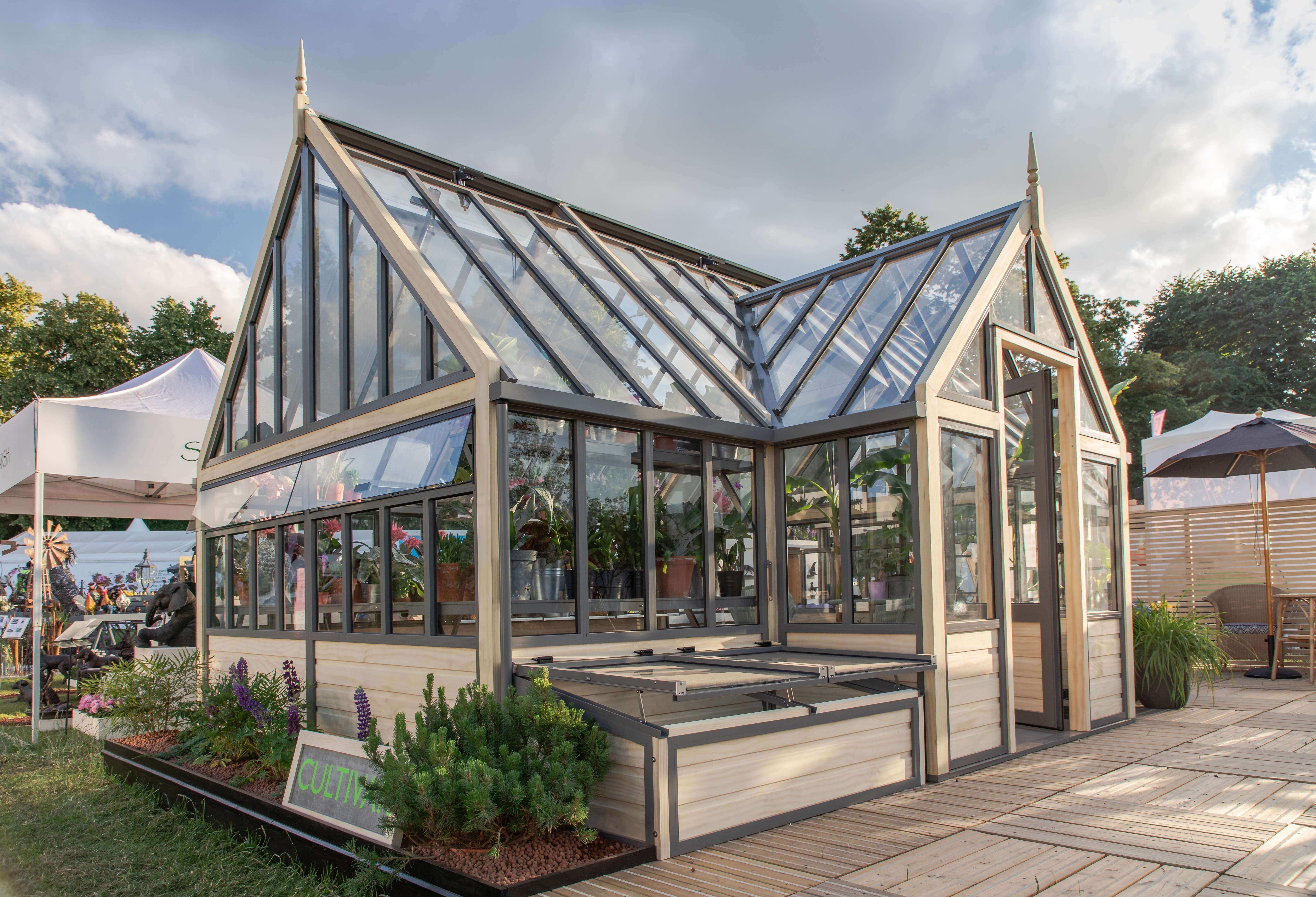 Victorian porch greenhouse