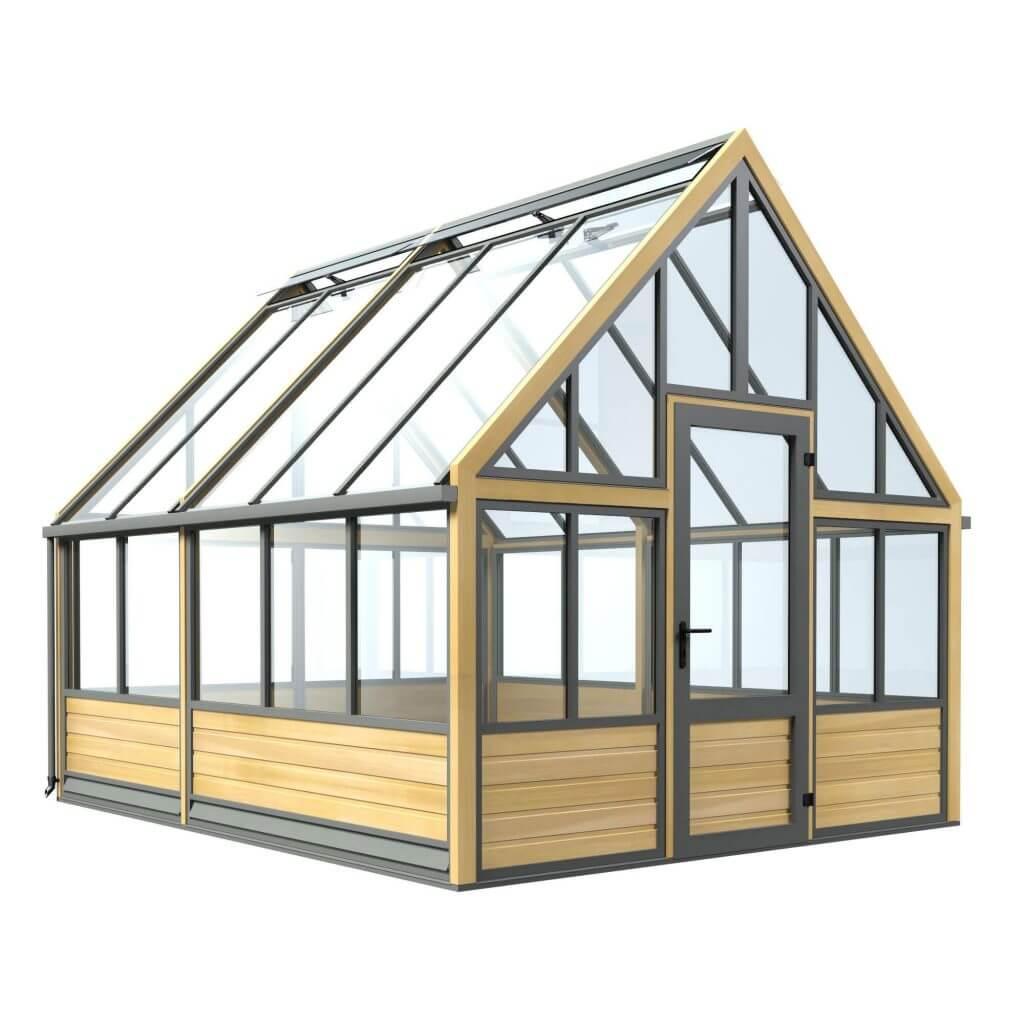 accoya, wooden greenhouse, Hampton Court Flower Show